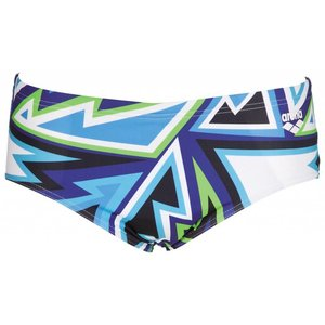 Arena M Tulum 12Cm Brief danube-blue/multi