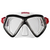 Arena Sea Discovery 2 Snorkelset Clear/black/silver