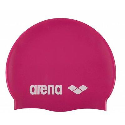Arena Classic Silicone fuchsia-white