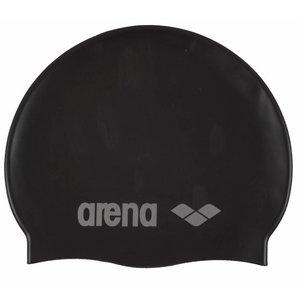 Arena Classic Silicone jr BLACK/SILVER