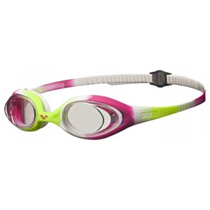 Arena Spider Jr lime/fuchsia/white/clear