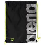 Arena Fast Swimbag black/fluo-yellow/silver