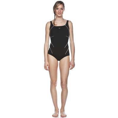 Arena W Jewel One Piece C Cup black/white