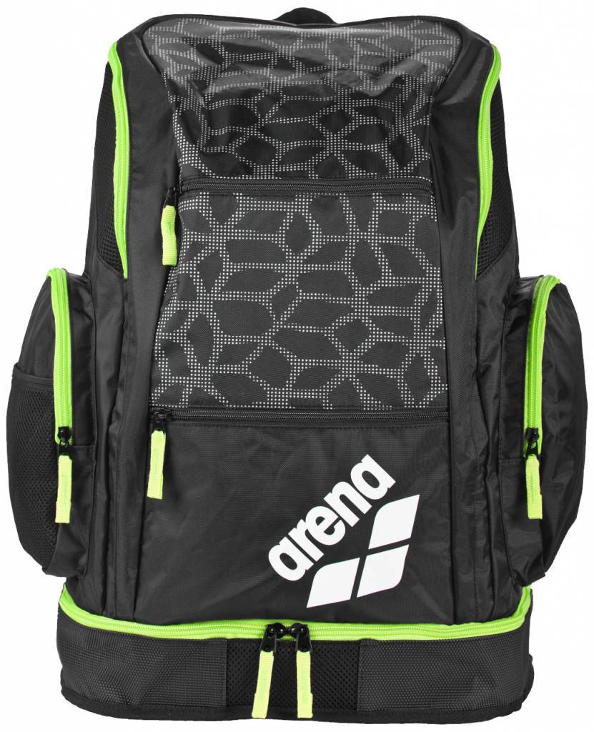 9a72c473178 Arena Spiky 2 Large Backpack black x-pivot-fluo green