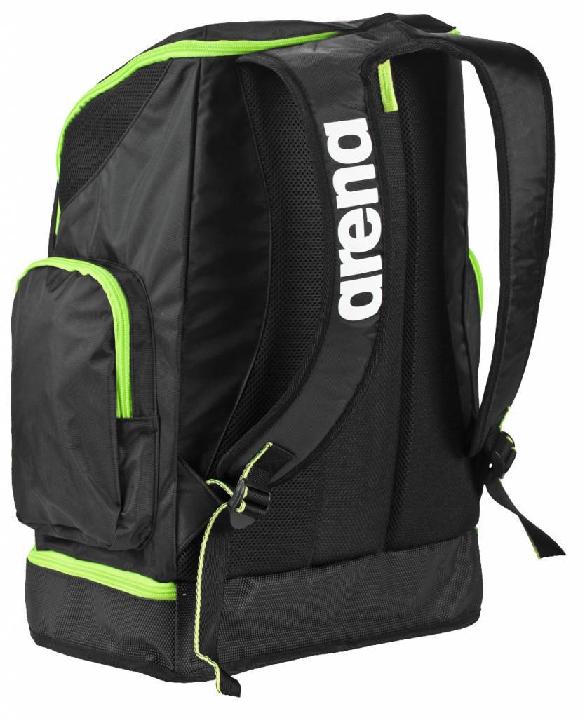 a86f7c6630d Spiky 2 Large Backpack black x-pivot-fluo green - Zwemmershop
