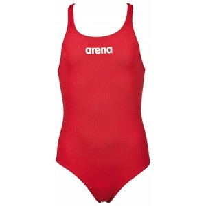 Arena G Solid Swim Pro Jr red/white