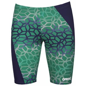 Arena M Polycarbonite II Panel Jammer F navy/kelly-green