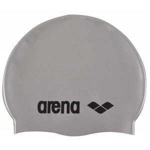 Arena Classic Silicone silver-black