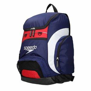 Speedo Team backpack 35 liter Blauw-wit-rood