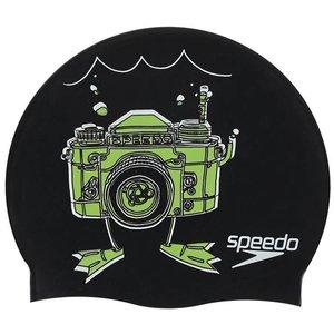 Speedo Silicone Slogan Badmuts Junior