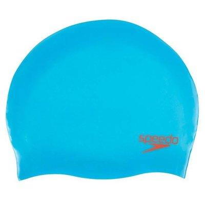 Speedo Junior Moulded silicone cap Blauw