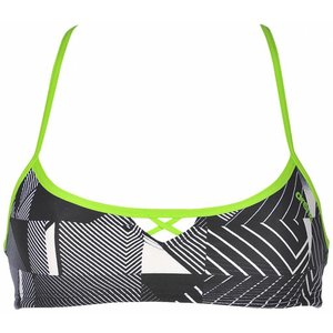 Arena Bandeau Be blackmulti-leaf