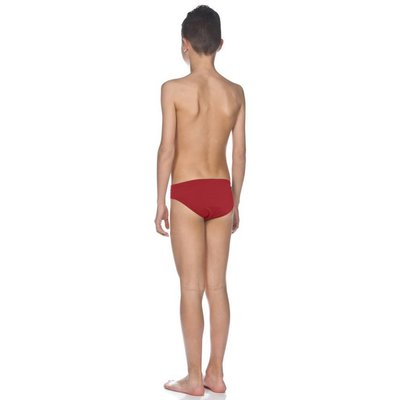 Arena Boys Solid brief Jr Red/White