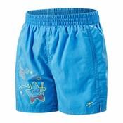 Speedo Seasquad tots short Blauw/rood