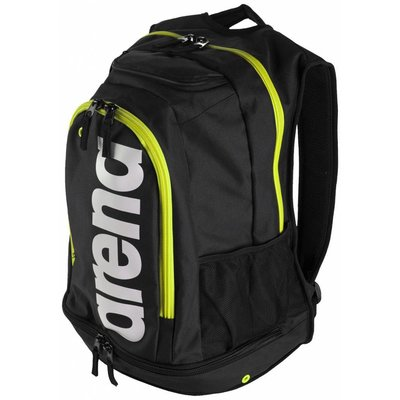 Arena Fastpack Core Black / fluo / white / green
