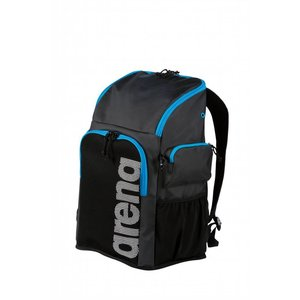 Arena Team 45 Backpack zwart / cyaan