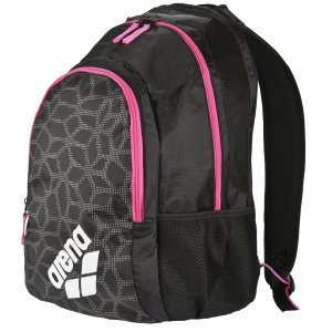 Arena Spiky 2 Backpack black-x-pivot-fuchsia