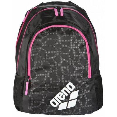 Arena Spiky 2 Backpack black-x-pivot-fuchsia