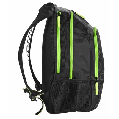 Arena Spiky 2 Backpack black-x-pivot-fluo-green
