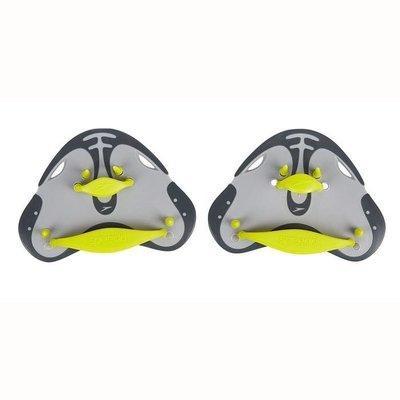 Speedo Finger Paddle Limegroen / grijs