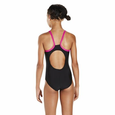 Speedo E10 Gala Logo Thinstrap Msb black/pink