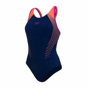 Speedo E10 Fit Laneback Navy/orange