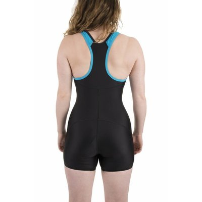 Speedo W Pool End Splice Pro Legsuit Black/blue