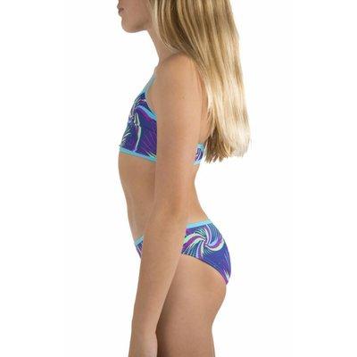 Speedo Girls E10 bikini Croptop purple