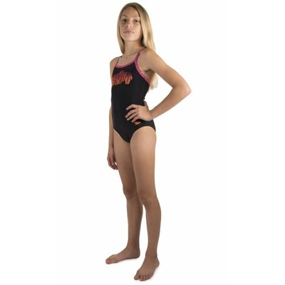 Speedo Girls Pool E10 Candy Bounce Thinstrap Muscleback