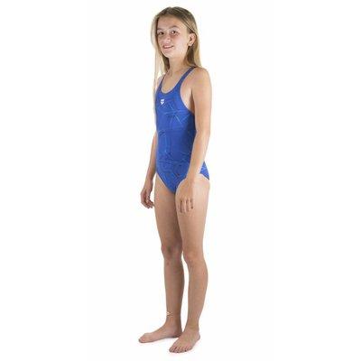 Arena Meiden Water Junior New V Back Badpak Gevoerd Navy