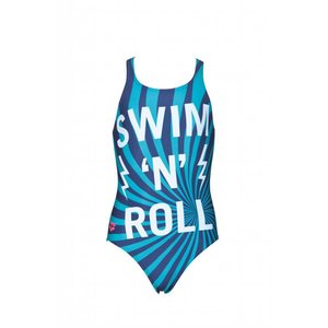 Arena Meiden Swim/Roll Junior badpak V Back