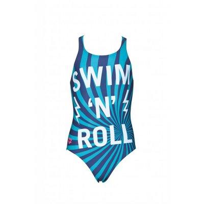 Arena Meiden Swim/Roll Junior badpak V Back