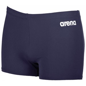 Arena Heren M Solid Short Navy/wit