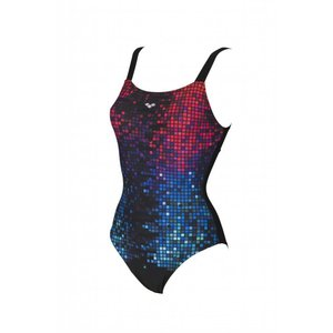 Arena Dames Opal Wing Back One Piece C-cup Black
