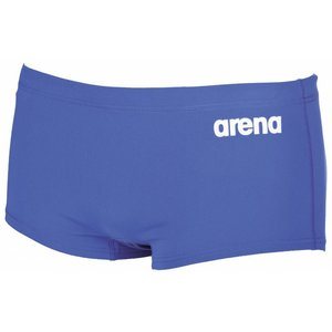 Arena Heren Solid Squared Short Royal / white
