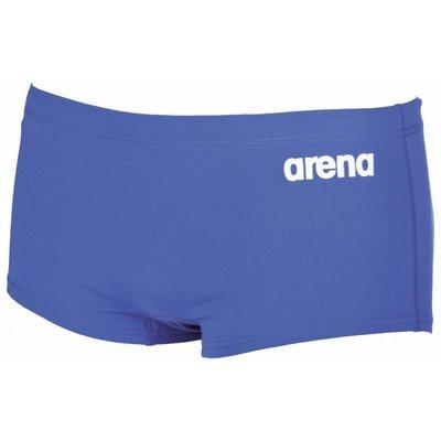 Arena Heren Solid Squared Short Royal / white