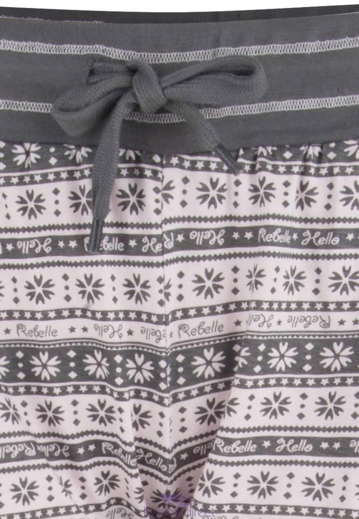 "Rebelle Girls short sleeve pyjama ""tassle tail bunny"""