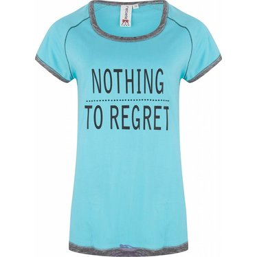"""Rebelle t-shirt  """"Nothing to Regret"""""""