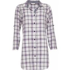 Cyberjammies Abigail check cotton nightshirt
