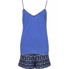 Cyberjammies Navy blauwe shorty set met hemdje 'Josie'