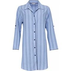 Cyberjammies Josie spotty striped cotton nightshirt