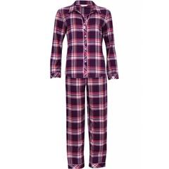 Cyberjammies Burgundy roze ruiten pyjama 'Anna'