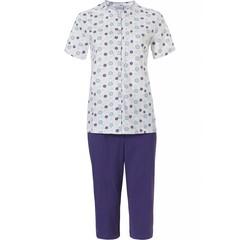 Pastunette pyjama met 3/4e lange broek  'uniquely floral'