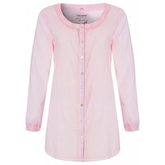 Rebelle blushpink, full button, beach shirt  'Sunny Days'