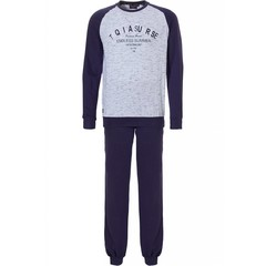 Pastunette for Men sporty pyjama set with cuffs 'Endless Summer For the Bave Only'