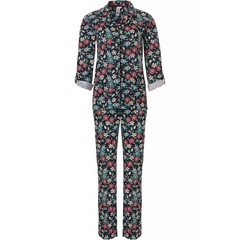 Rebelle pyjama met lange mouwen 'pop-art flower power'