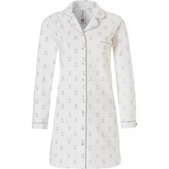 Rebelle thick cotton long sleeve nightdress 'cute little bunny'