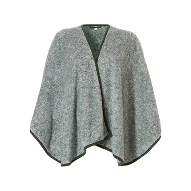 Pastunette soft & warm green, one size coral fleece cape
