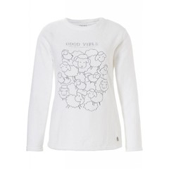 Rebelle Mix & Match fleece jumper/top 'off to sheep we go'