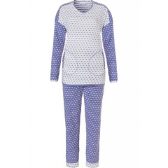 Pastunette long sleeve pyjama set 'mad about dots'